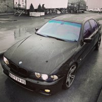 black bmw car